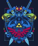 Exclusive Legend of ZELDA T-SHIRTS!!  (Male / Female / Kids) - Deal ends 11pm Today - @ Qwertee - £10.50 each Delivered