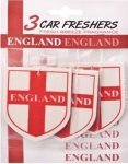 Free 3x England Air Fresheners from Brooklyn Trading