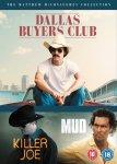 The Matthew McConaughey Collection - DVD Set (3 Films - Dallas Buyers Club, Killer Joe & MUD) @ Amazon / ASDA Direct - £15
