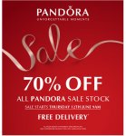 Upto 70% off Pandora @ Republicofjewels
