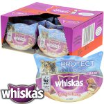 Whiskas Temptations Beef/Salmon Flavours Case Of 8 Tubs £7.12 @ Home Bargains Click And Collect