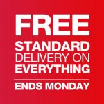 Free standard delivery on EVERYTHING until Monday @ Halfords + 3 for 2 on selected car cleaning items (Sponges from 50p + 3 for 2 including Car Shampoo / Cleaning kits & more)