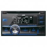 JVC KW-R400 2-DIN USB Car Stereo with Dual Aux £50 @ Halfords