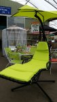 Dream Chair Swing Seat Lime £99 @ Carpenders Park Garden Centre