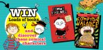 WIN one of five fantastic kids book bundles! @ Pizza Hut