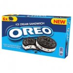 Oreo Ice Cream Sandwich 6x55ml £2.00 @ Waitrose & Ocado