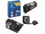 Asus Intel Z97 Hydro Bundle (Z97-K, Intel Core i5-4670K & 16GB Veng Pro 2133MHz + H75 Hydro Cooler) +  FREE Asus Echelon ROG Gamer Headset  £419.98 @ Dabs