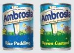 Ambrosia Devon Custard / Rice Pudding / Low Fat Devon Custard / Organic Rice Pudding (400g) & Low Fat Rice Pudding (425g) - 37p Each (74p 2 For 1) @ Waitrose...