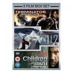 (DVD) 2012/Terminator Salvation/Children Of Men Box Set - £3.00 - Asda Direct
