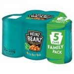 10 CANS HEINZ BEANS for £4.00 at OCADO