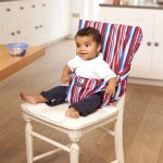 Super Light Packaway Pocket High Chair, £11.90 with free delivery from Jojo Maman Bebe (using code).
