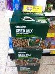 BTO Gardman Seed Mix for Wild Birds 8kg £5.99 @ Home Bargains