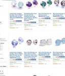 Various Swarovski stud earrings at £4.99 (80% off) Sold by pewterhooter and Fulfilled by Amazon (addon item for orders over £10)