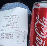 Coca cola 330ml 33p @ Family Bargains