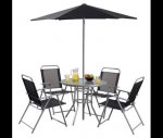 Hawaii 6-piece Garden Furniture Set £42.00 Tesco Direct