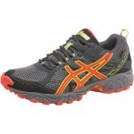 Goretex Asics Asics Mens Gel Trail Lahar 5 Gore-Tex 3m Running Shoes Charcoal/Red/Lime all sizes 6-14uk inc 1/2s £64.99 @ mandmdirect