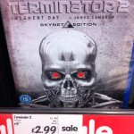 Terminator 2 Skynet Edition Bluray £2.99 @ Asda