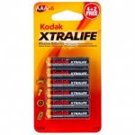 Kodak Xtralife AA/AAA Alkaline batteries, 6 for £1 at Poundland