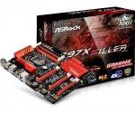 ASRock Z97X Killer Socket 1150 Motherboard - Amazon - £100.44