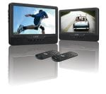 "Logic 9"" Twin Car Portable DVD Player £99 from £199 at Currys"