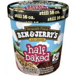 Ben and jerry half baked - £2.50 @ asda , £1.50 after shopitize