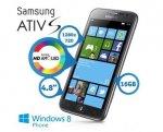 Samsung Ativ S (i8750) Windows Phone 8 Smartphone with HD Super AMOLE £174.95  + £7.95 p&p @ IBOOD