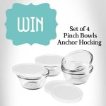 Win 1 of 3 sets of our Anchor Hocking Set of Four Pinch Bowls @ Viners ( Facebook)