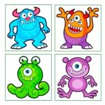 Monster Tattoos £0.49 @ Amazon / slj_party_bags