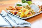 3-course Sunday lunch or dinner with a glass of wine for 2 at Netley Hall, £12.50 at KGB Deals
