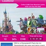 Disneyland Paris, Ferry & Coach Travel - 15 Locations £99.00 at Wowcher