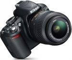 Nikon D3100 - digital camera AF-S VR DX 18-55mm lens £239 ASDA Direct