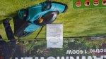 tesco 1400w lawnmower £17.50 @ Tesco