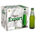 Carlsberg Export 4.8% 12x275ml Bottles £6.30 @ Asda