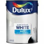 Dulux Matt Emulsion Paint Pure Brilliant White 5ltr - now £10 at Wilkinsons