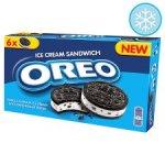 Oreo Ice Cream Sandwich 6 X 55Ml - half price - £1.49 @ Tesco