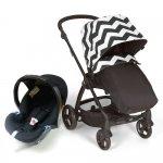 Mamas & Papas Sola 2 Pushchair + Car seat Package - Black Chevron - £249 @ Winstanleys Pramworld