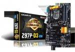 Gigabyte Z97P-D3 motherboard (socket 1150) £58.99 @ Amazon