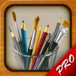 MyBrushes Pro - Sketch, Paint, Playback on Unlimited Size Canvas with Pencil, Pen Painting Brush for IOS - FREE @ iTunes (Usually £1.49)