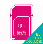 T-Mobile pay as you go SIM including £5 credit for £0.99 including shipping @ ebay/ee-uk-shop