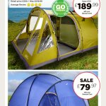 Tent sale from Go Outdoors