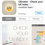 Ultra violet radiation meter apple app