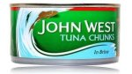 John west tuna chunks in brine 4 for £2.99 buy 2 for £5 @ B&M Retail