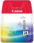 Canon Bci-24 Colour ink cartridge BCI24C WAS £19.32 NOW £5.74 70% off + FREE Delivery on orders over £10 @ Amazon