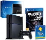 PlayStation 4 Console with Call of Duty: Ghosts and PS Plus 90 Day Subscription - Amazon - £369.99