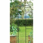 Metal garden arch from QD Stores only £4.99