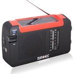 Duronic Hybrid Radio - Wind-Up, Solar & Rechargeable AM/FM Radio £11.99 delivered @ Sold by Duronic and fulfilled by Amazon