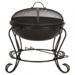 Small round fire pit £14 @ Tesco Direct