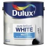 Dulux 2.5L white matt paint £6 @ Tesco