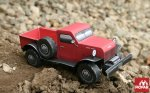 Build Your Own Classic Dodge Power Wagon Paper Model