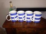 Bold stripe mugs in Tesco Falkirk 37p each